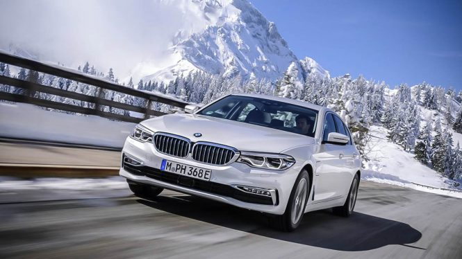 BMW 530e iPerformance car range
