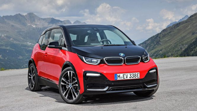 BMW i3s car range