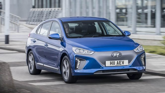 Hyundai IONIQ Electric car range