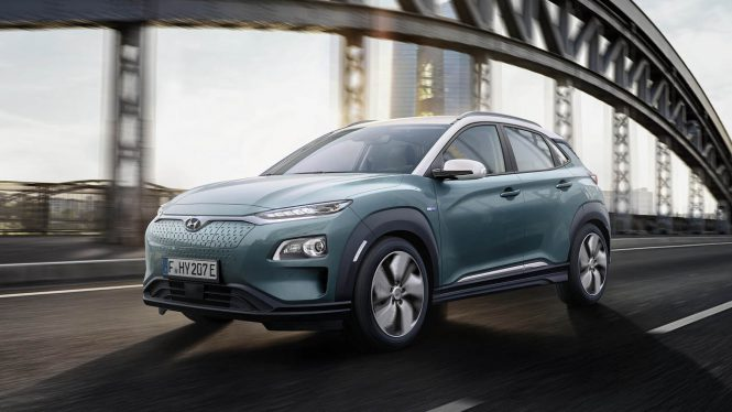 Hyundai Kona Electric 64 kWh car range