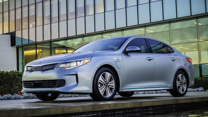 Kia Optima Plug-in Hybrid car range