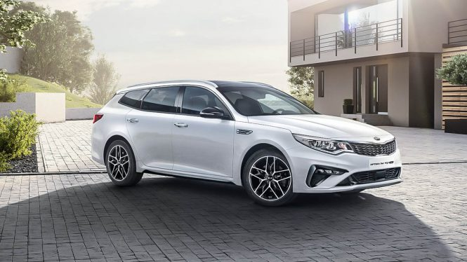 Kia Optima Sportswagon PHEV car range