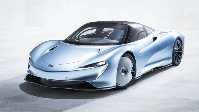 McLaren Speedtail car range