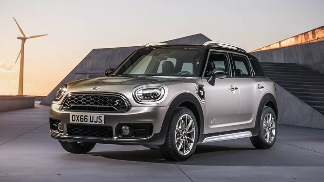 Mini Countryman Cooper S E ALL4 car range