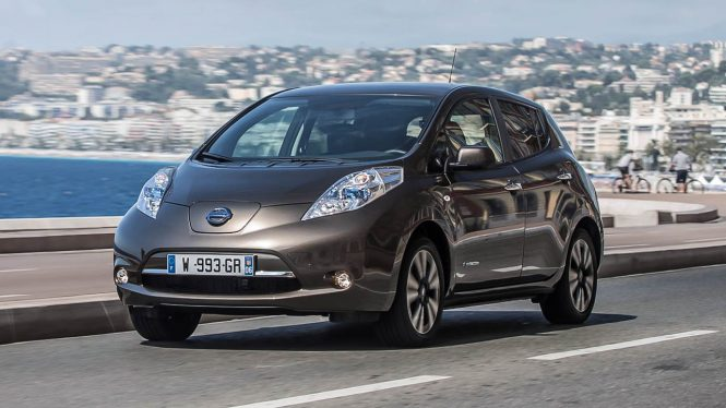 Nissan Leaf 24 KWh Car Range