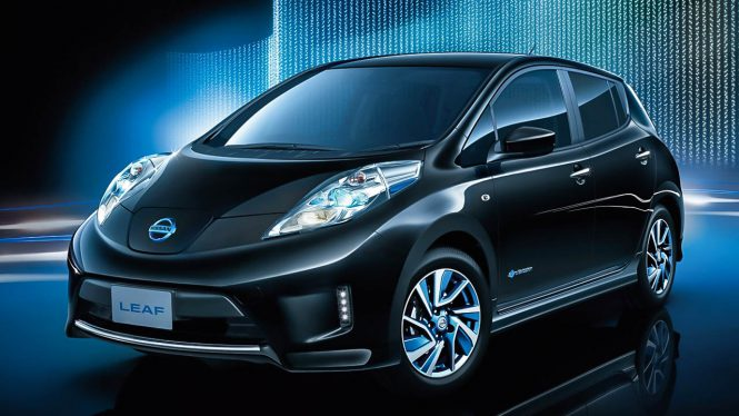 Nissan Leaf 30 kWh car range