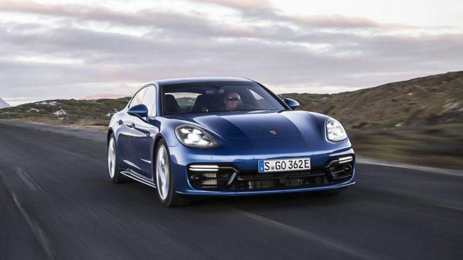 Porsche Panamera 4 E Hybrid Car Range