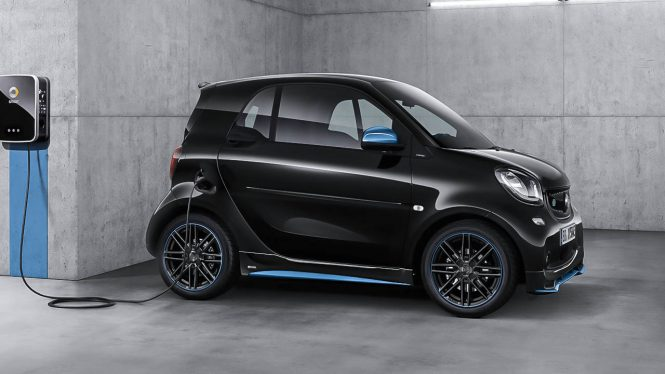 Smart Eq Fortwo Coupe Car Range