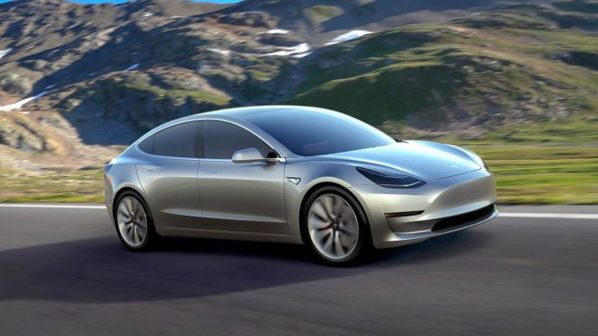 Tesla Model 3 Long Range Performance Car