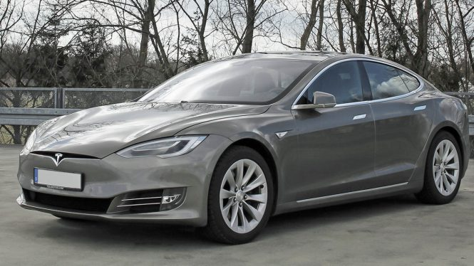 Tesla Model S 75 Car Range