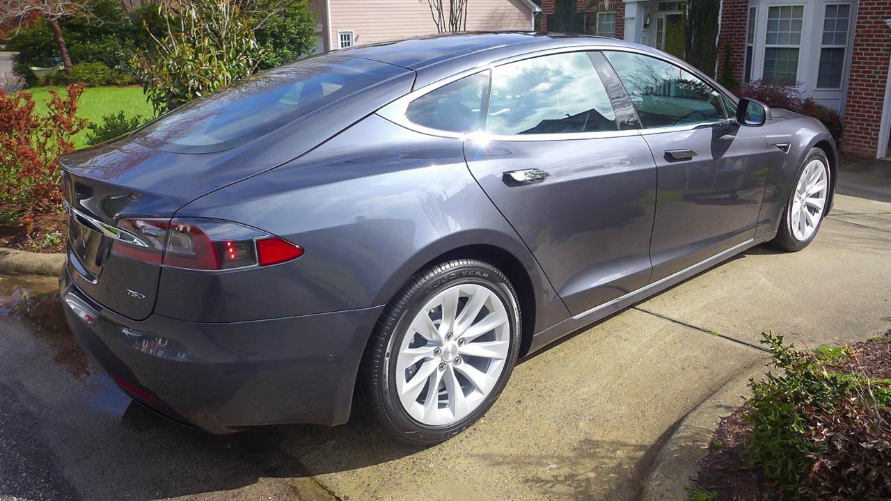 Ev Cars Range Battery Electric Vehicle Tesla Model S 75