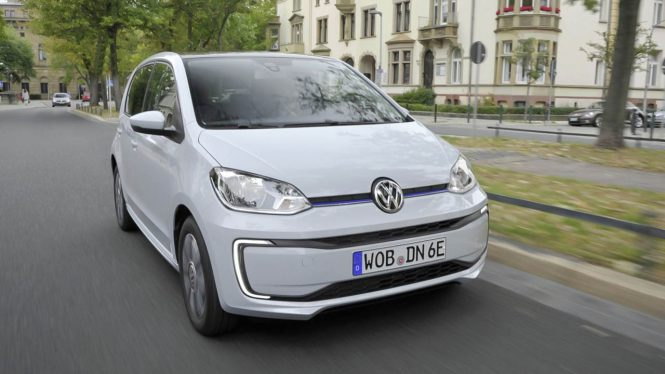 Volkswagen e-Up! car range