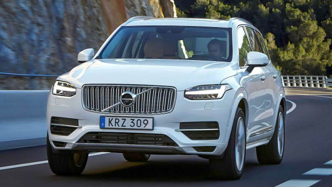 Volvo XC-90 T8 Twin-Engine car range